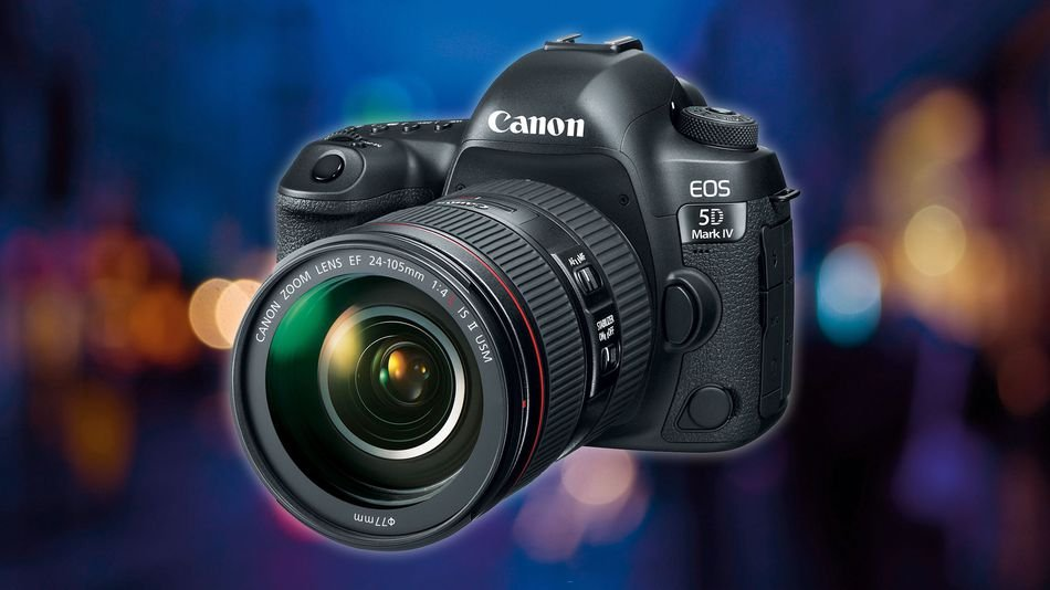 Canon EOS 5D Mark IV DSLR