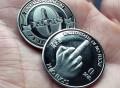 The Finger – Zero Fucks Given Coin