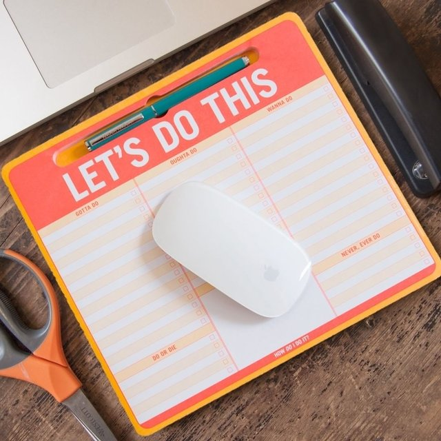 Let's Do This Paper Mousepad