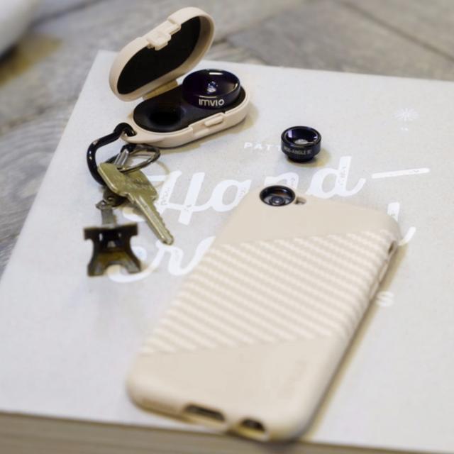 IMVIO iPhone Lens Kit in Sand