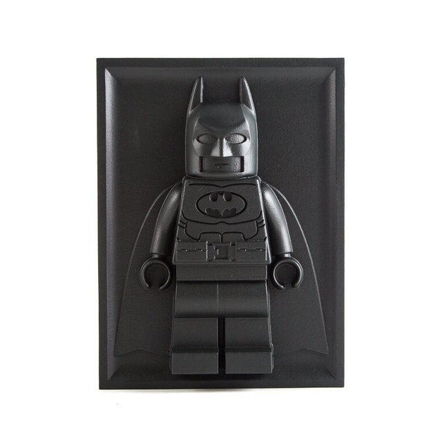 Lego Batman Bas-relief Sculpture