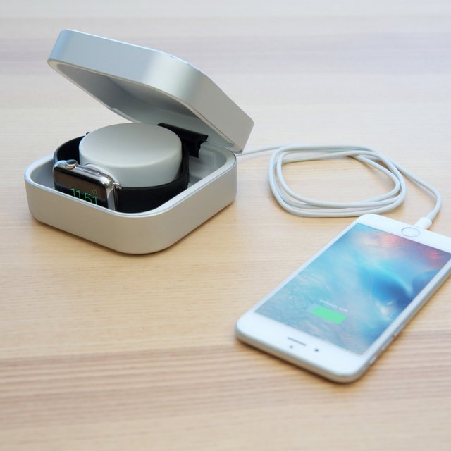 Aluminum Apple Watch Power Bank Box