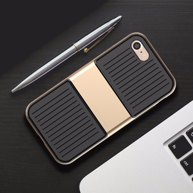 Hard Shell Suitcase iPhone 7 & 7 Plus Case
