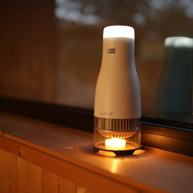 Lumir C Candle Powered LED Lamp