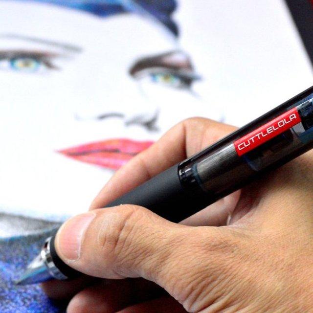 Cuttlelola Electric Drawing Dotspen