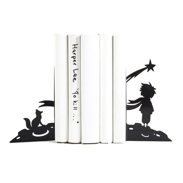 The Little Prince Metal Bookends
