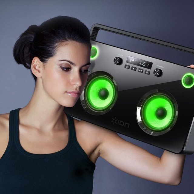 Spectraboom Wireless Boombox