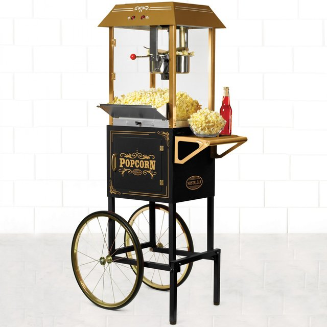 Kettle Popcorn Cart by Nostalgia Electrics