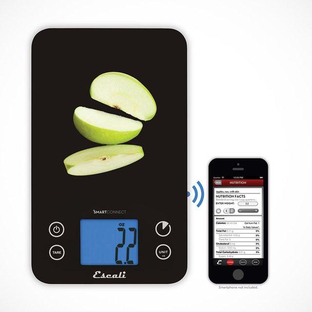 Escali Bluetooth SmartConnect Kitchen Scale