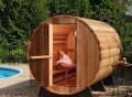 Almost Heaven Outdoor Barrel Sauna