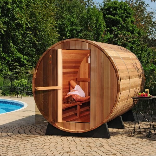 Almost Heaven Outdoor Barrel Sauna