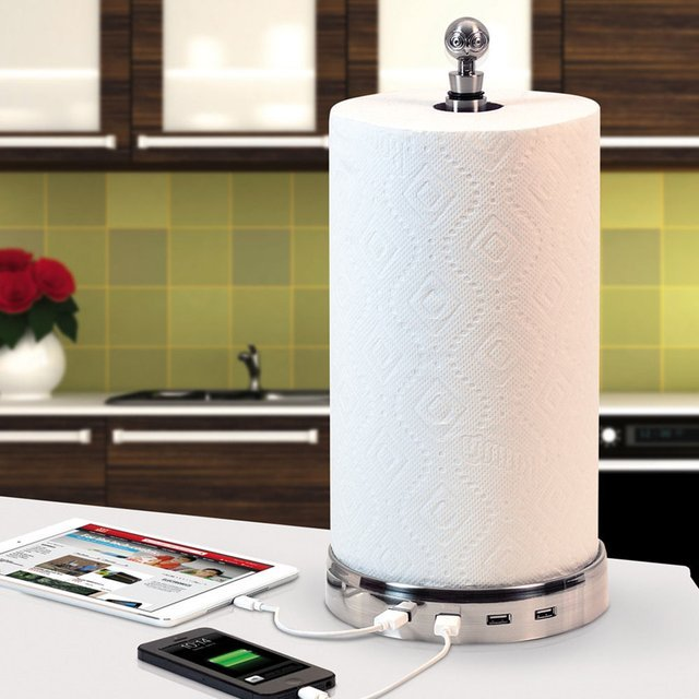 TowlHub USB Paper Towel Charger