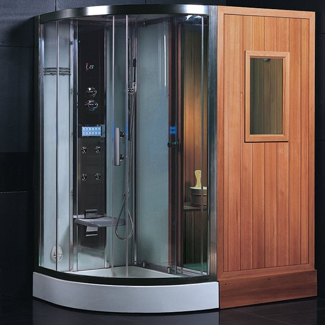 Ariel Finnish Sauna Shower