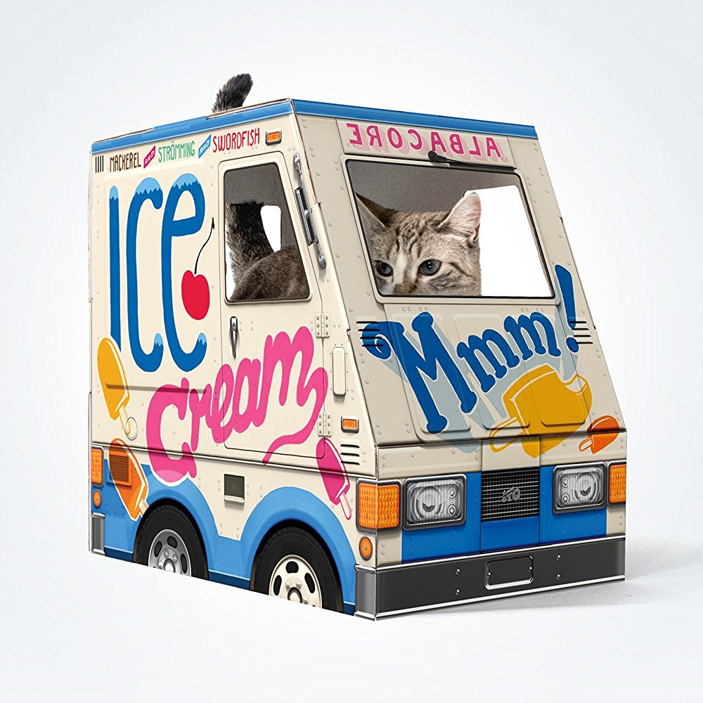 OTO Ice Cream Truck for Cats!