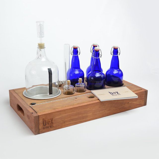Quartermaster Handcrafted Small Batch Beer Making Kit