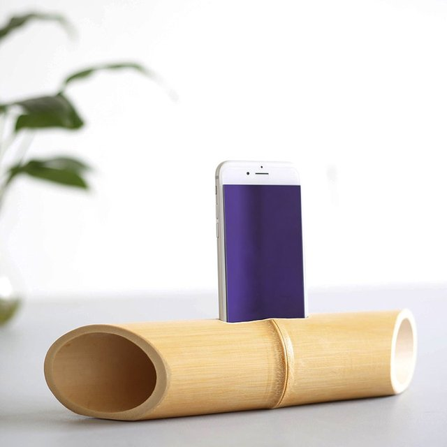 Bamboo iPhone Speaker
