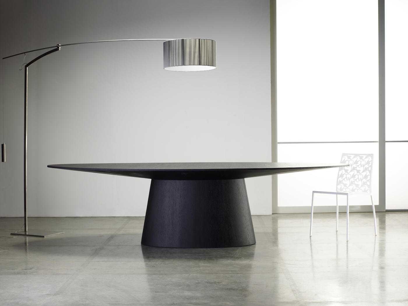 Modloft Sullivan Dining Table in Wenge by Modloft