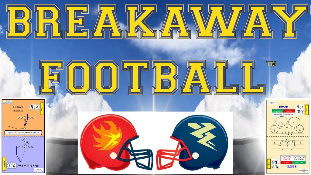 Breakaway Football: Tabletop Board Game