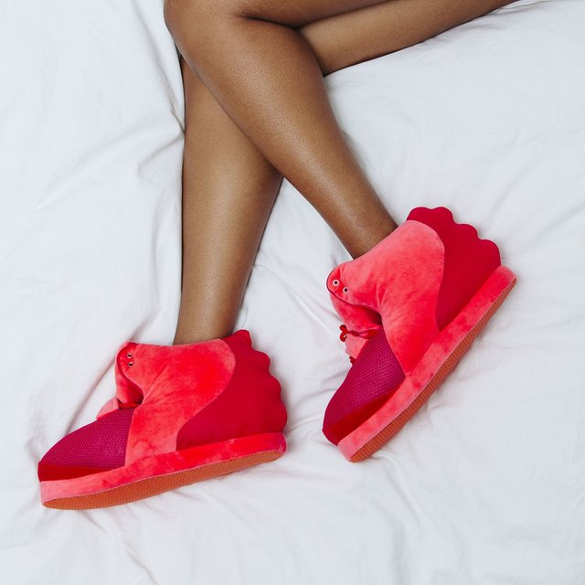 Red October Slippers by Cozy Kicks