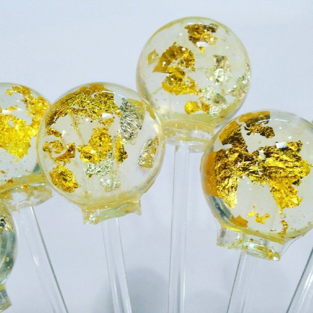 Lick of Luxury 24 Carat Gold Lollipops