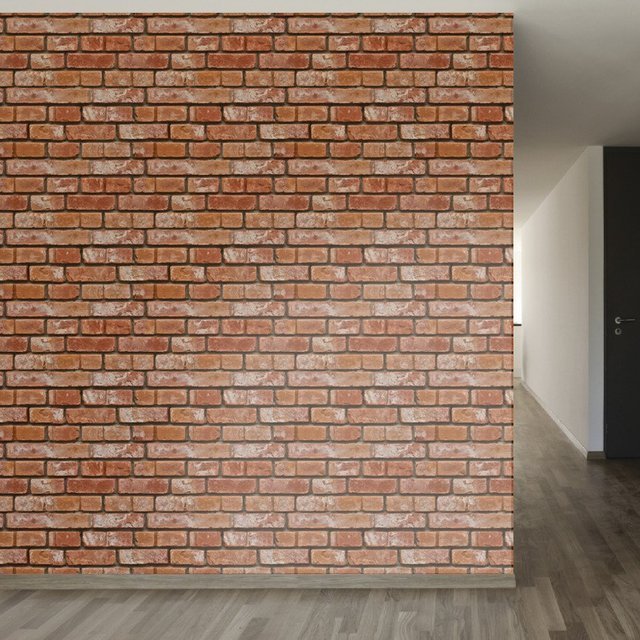 Realistic Bricks Removable Wallpaper
