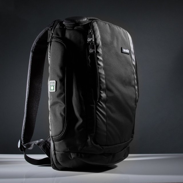 Travel Backpack With Integrated Suiter