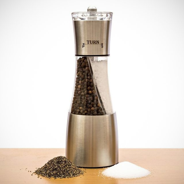Twin Twister Salt and Pepper Crusher