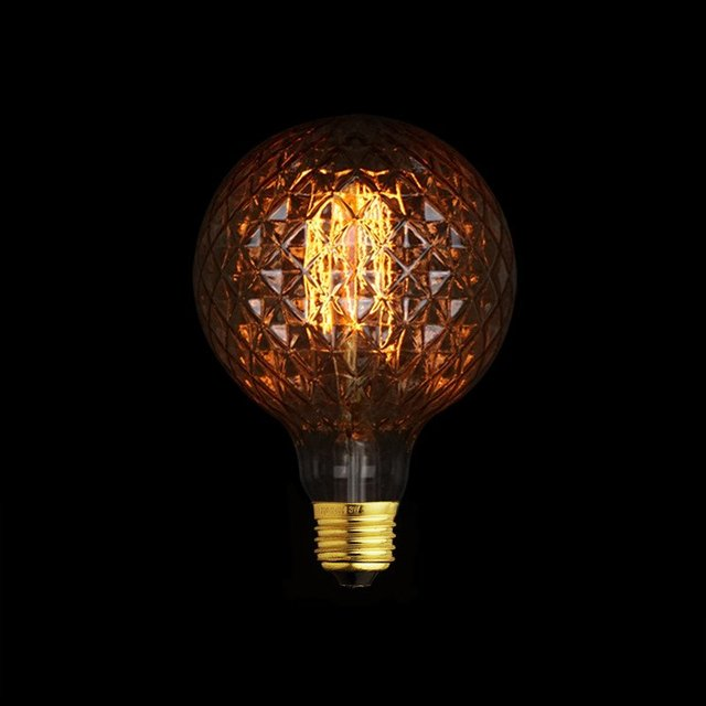 Globe Pineapple Edison Light Bulb