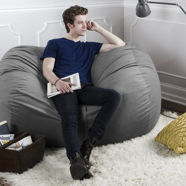 Jaxx 5.5′ Bean Bag Loveseat