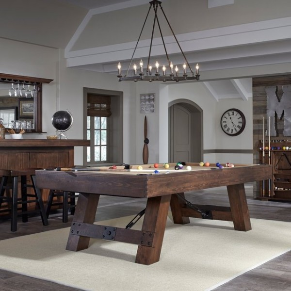 » The Savannah Pool Table By American Heritage