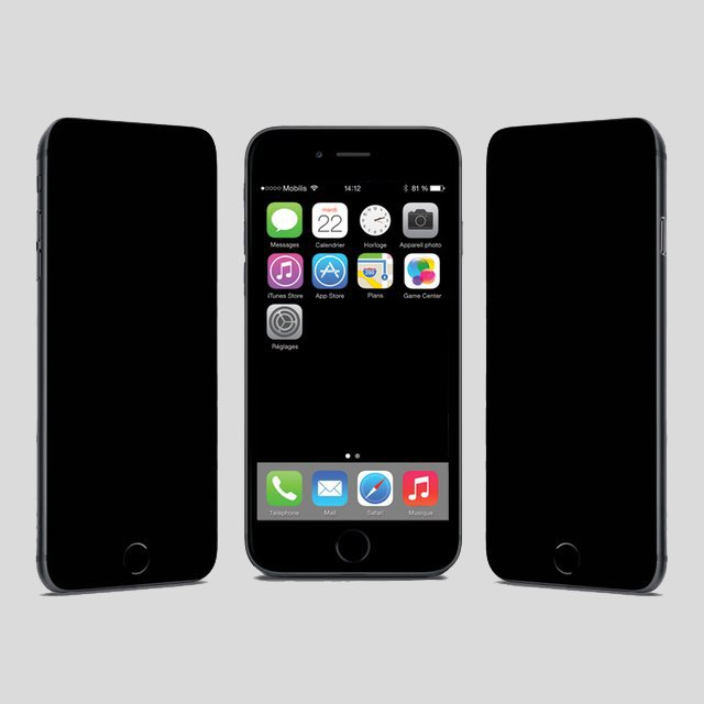 Privacy Screen Tempered Glass iPhone Shield