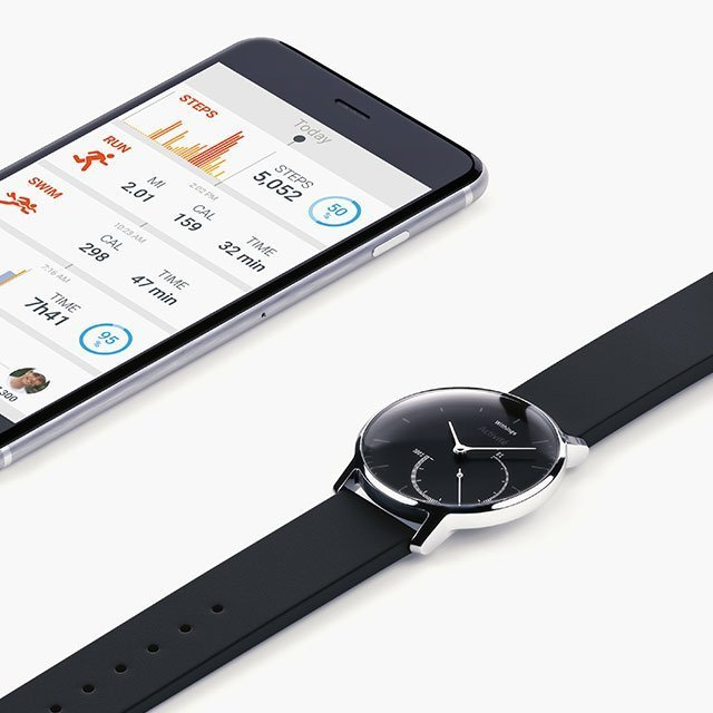 Withings Activité Steel Activity & Sleep Tracker