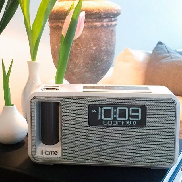 iKN105 Dual Charging Bluetooth Stereo Alarm Clock
