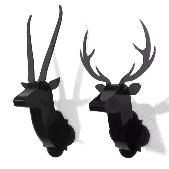 Classic Wild Duo Modern Wall Sculptures