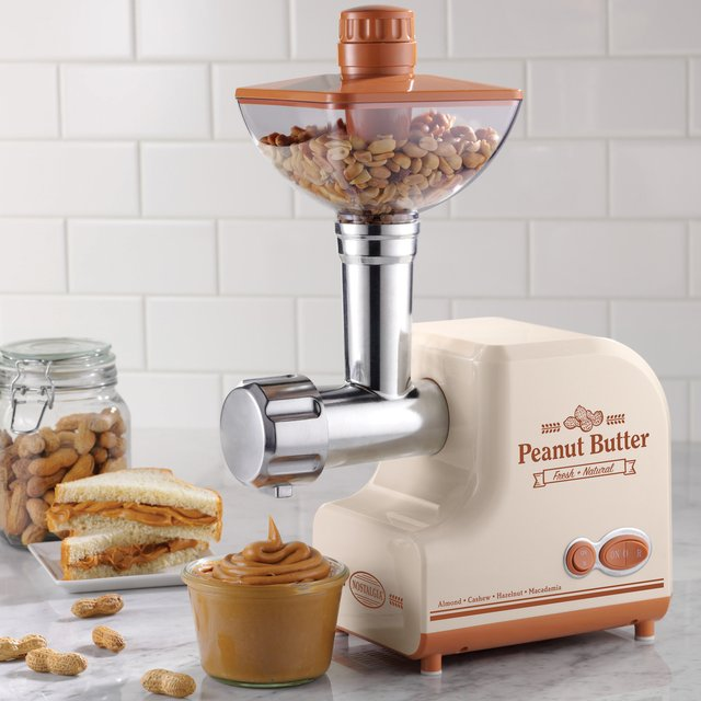 Professional Peanut Butter Maker by Nostalgia Electrics