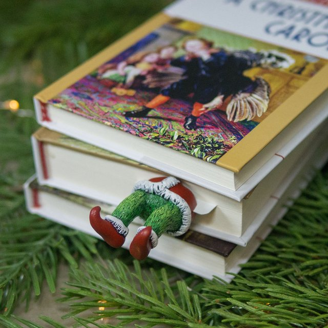 Grinch Bookmark