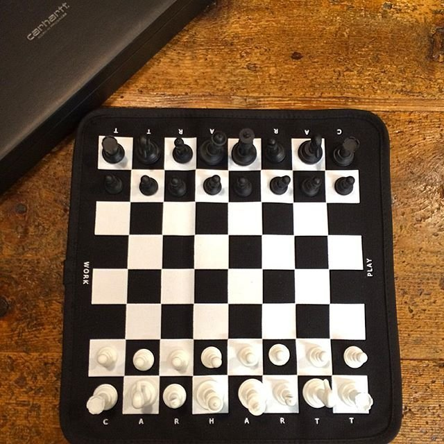 Carhartt Work In Progress Portable Chess Set