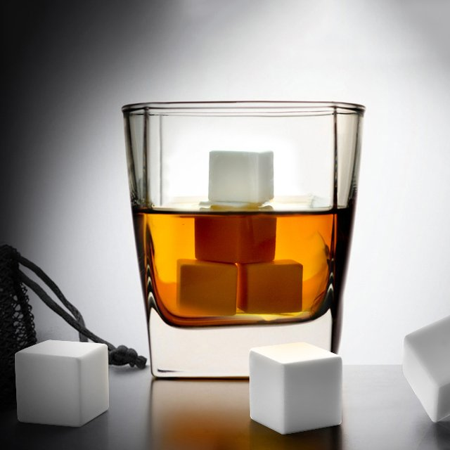 White Ice Whiskey Stones
