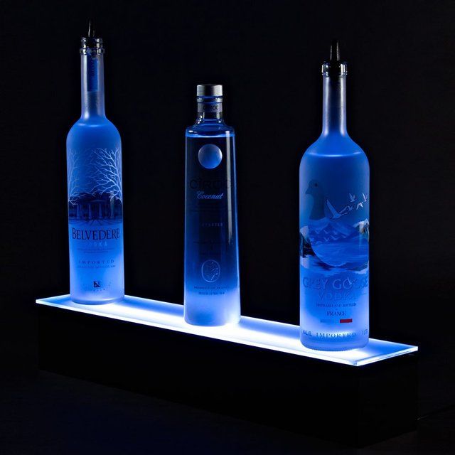 Illuminate LED Bar Shelf with Remote