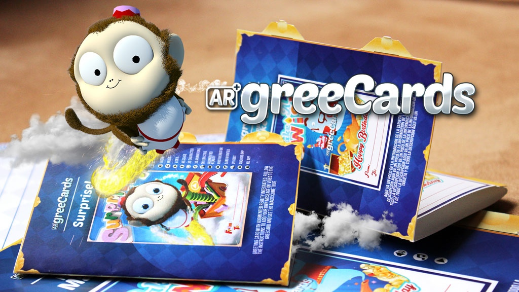GREECARDS – a magic way to share a greeting card