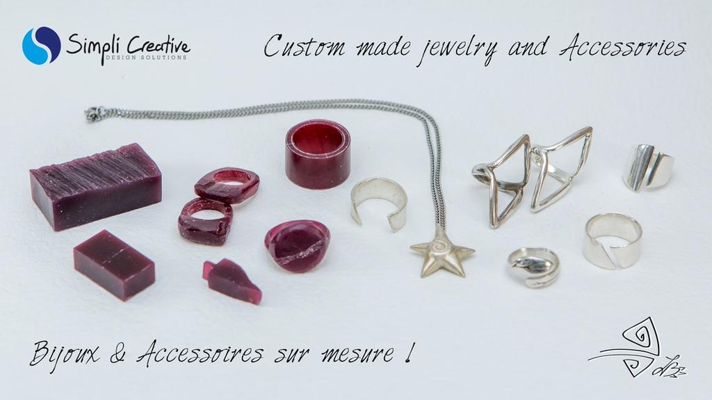 Bijoux et Accessoires Uniques ! Custom made Unique Jewelry