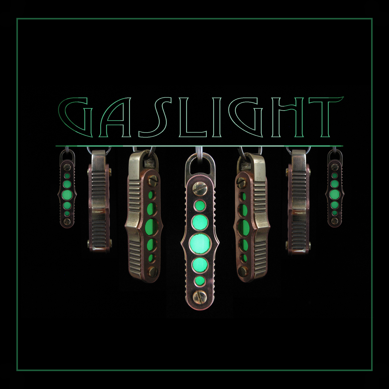 The GasLight keychain lantern : Go forth, be luminous!