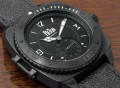 Reign Churchill Automatic Pro-Diver Distressed Genuine Leather Strap Watch