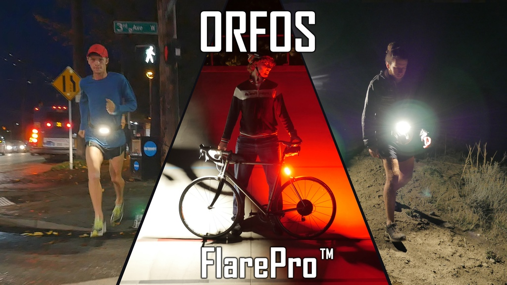 Flare Pro – Next Gen Light for Cycling, Hiking, and Running