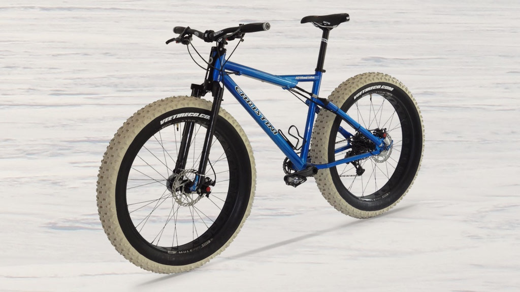 CHRISTINI All Wheel Drive Fat Bikes & Antarctica Expedition