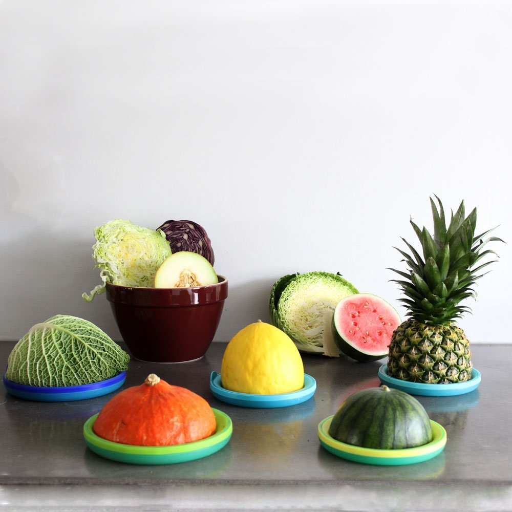 Bowl & Melon Hugger Reusable Lids