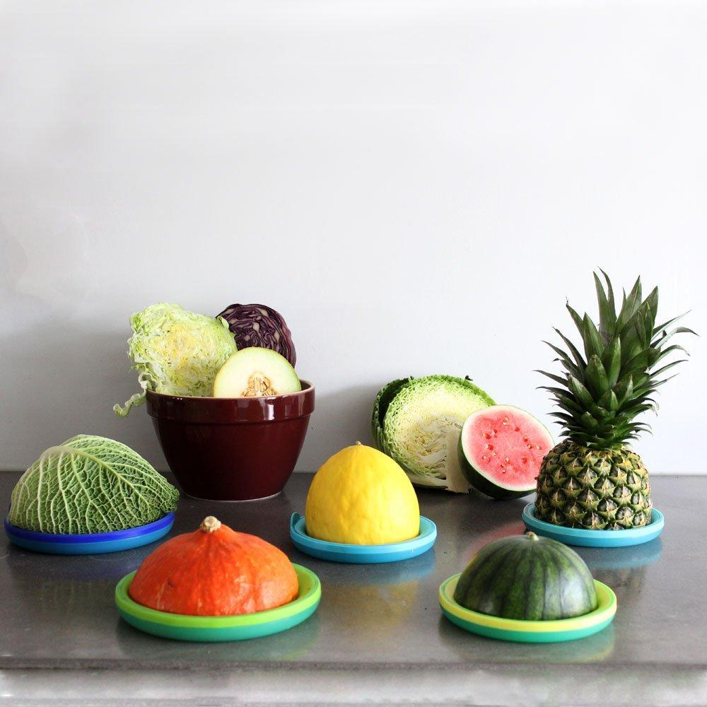 Bowl & Melon Hugger Reusable Lids