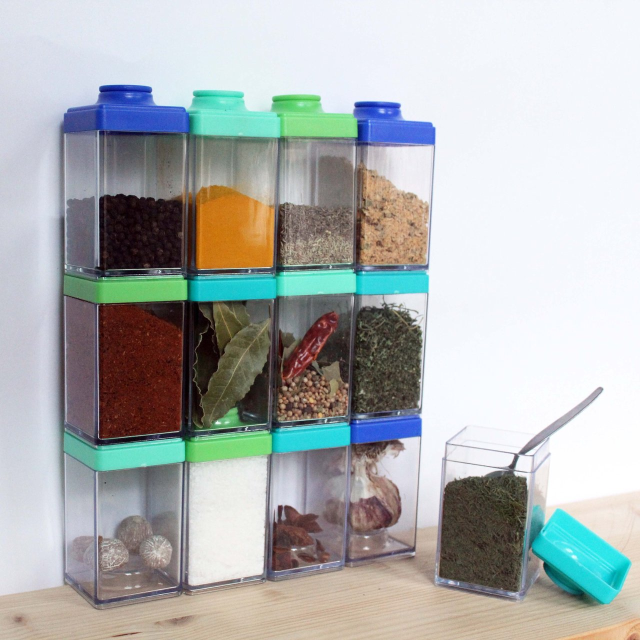 Stacking Spice Cubes