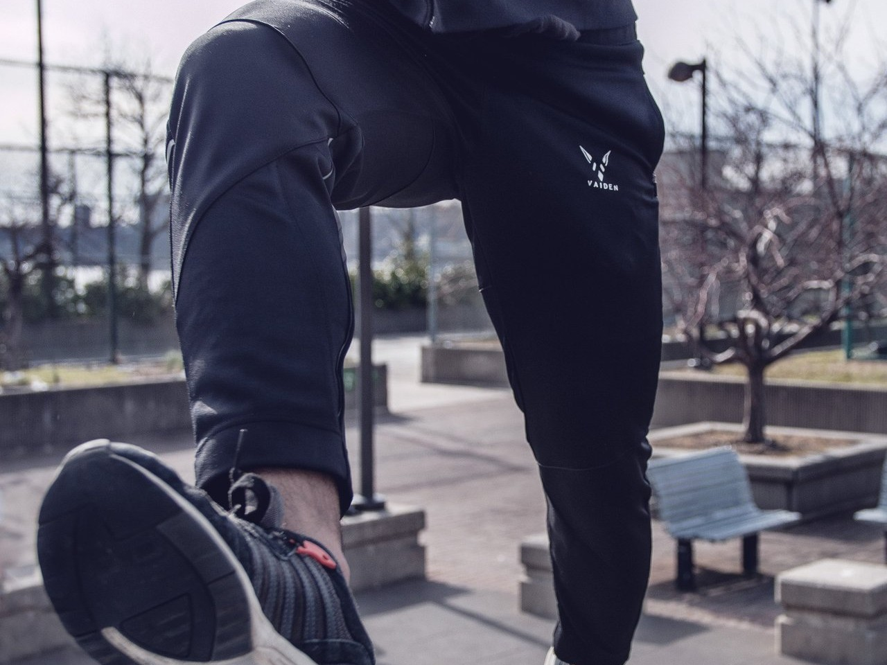 Vaiden Eris Reflective Athletic Performance Pants