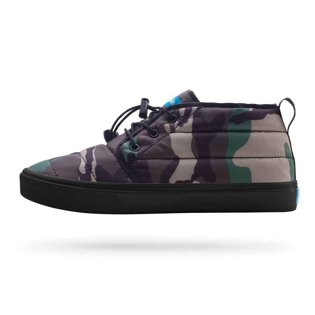 The Cypress Camo / Really Black by People Footwear